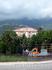 Облако село на Будву