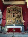 В часовне Алькасара венчались король Испании Филипп II с Анной Австрийской (1549 – 1580 гг.).