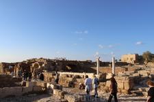 Кейсария. Руины древнего города.