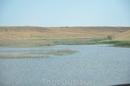 это небольшое озеро  мы нашли в  хазарских степях Астраханской области