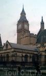 Часовая башня Вестминстерского дворца, так называемый Биг-Бэн