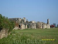 Развалины дворца абхазских князей 10 век