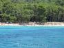 пляж на Форменторе