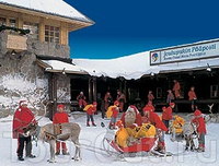 Деревня Деда Мороза, Полярный Круг