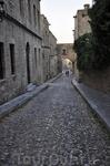 Улица рыцарей возле дворца Великих Магистров