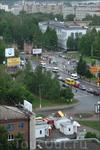 вид на Московский проспект с высотки на ул. Афанасьева