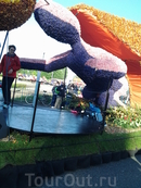 Парад цветов  Блюменкорсо 3 мая 2014 и парк Кейкенхоф в Голландии