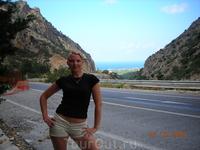 Дорога из Сталиды в Агиос Николас