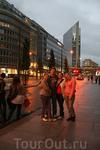 Улицы Осло и мы.