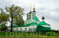 Белокаменная Спасо-Преображенская церковь