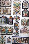 сувенирные лавки Линдоса, красочная керамика