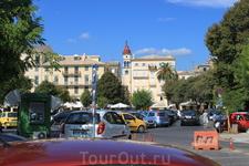 Самое высокое сооружение-- колокольня храма Святителя Спиридона. Видна с разных частей города.