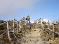 Вулканический перевал - цивилизация даже сюда протянула свою жадную руку...