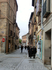 Очередная улочка, заполненная туристами и вдруг - вот такие неспешные монашки. К какому из монастырей они относятся - большой вопрос, поскольку их в Сеговии ...