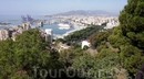 Malaga, вид на город с крепости Gibralfaro