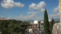 Вид с крепостной стены на город
