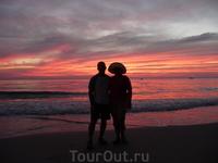 романтические закаты