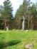 Мемориал памяти жертв зимней (финской) войны. Крест памяти. Русская сторона креста
