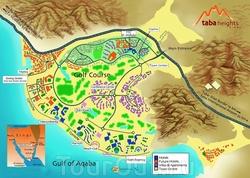 Туристическая карта Табы
