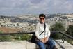 Вид на Храмовую гору. Это священное место для иудеев, христиан и мусульман.