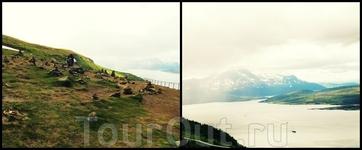 на горе в г.Tromsø
