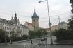 Прага хмурым осенним утром