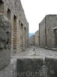 Разрушенные улицы Помпеи