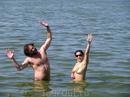 Святое озеро. Температура воды +29С.