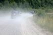 дорога, надо сказать, не простая: сплошные ямы, камни, резкие перепады, пыль столбом...