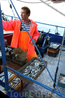 В город Макарска мы ездили, чтоб купить рыбы у рыбаков.
