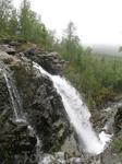 Водопад в районе КСП