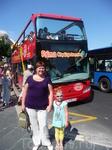 Пальма-Де-Майорка. Экскурсионный автобус, на котором мы сомостоятельно осматривали столицу.
