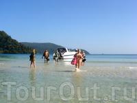 вот так мы высаживались на берег :)