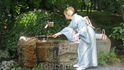 Перед посещением храма нужно омыть руки и прополоскать рот