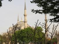 Минареты Голубой Мечети