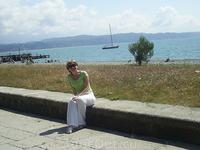 Там же в Пицунде, вид на море