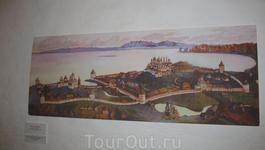 Схема Кирилло-Белозерского монастыря
