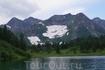 """Сурунцинское озеро. О нем упоминается в книге """"Два года в Саянах""""- в ред Ал. Ан. федоровых."""