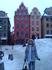 Гамла Стан - старый город. На фото домики Малыша и Карлсона. Они как будто пряничные, хотя построены из камня и в них живут люди.