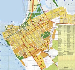 Карта Анапы с улицами