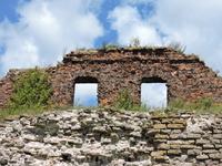 Вот и руины более поздних строений крепости.