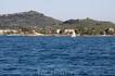 о. Закинтос. Порт города Аликес. Закинф поразил нас своей буйной растительностью! Это самый зелёный остров из всех увиденных нами в Греции