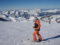 Самая вершина Ледника, высота - 3200 над уровнем моря