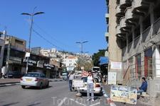 г.Назарет - самый христианский город Израиля, а также единственный город в стране, где воскресенье является выходным днём.