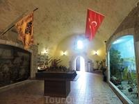 Вот так выглядит музей в крепости
