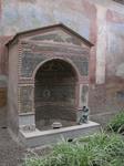Помпеи,когда-то это был фонтан...В доме зажиточного горожанина.