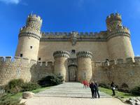 К счастью, время не успело разрушить мощные стены, и в 1914 году в замке начались реставрационные работы под руководством архитектора Висенте Лампереса Ромеры (Vicente Lamperez Romera). В 1931 году Ма