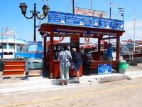 Пристань Элунды...от которой отходят катера на о.Спиналонга