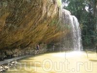 еще водопад...