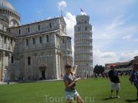 Конечно, Пизанская башня!
